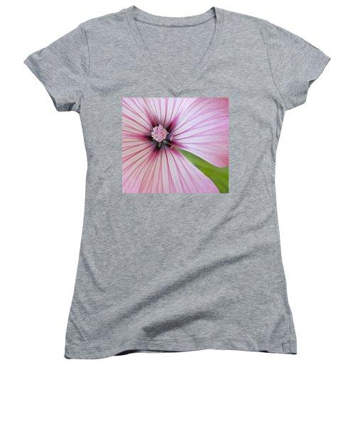 Flower Star Women's V-Neck T-Shirt