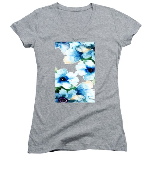 Flowers 06 Women's V-Neck