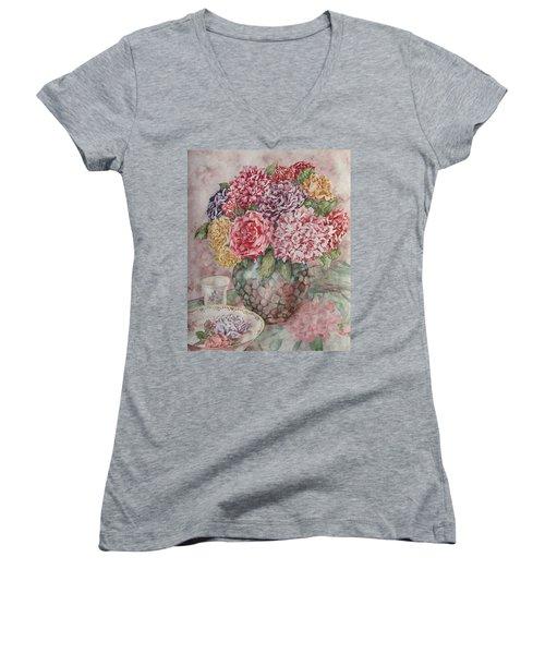 Flowers Arrangement  Women's V-Neck T-Shirt