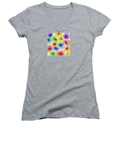 Flowers For Eternity Women's V-Neck T-Shirt