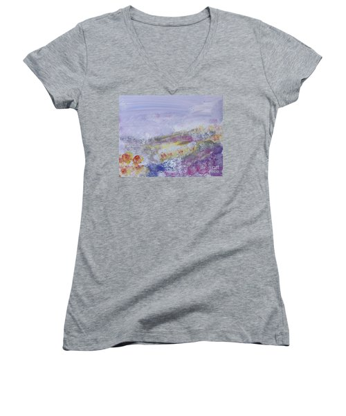 Flowers In The Ether Women's V-Neck