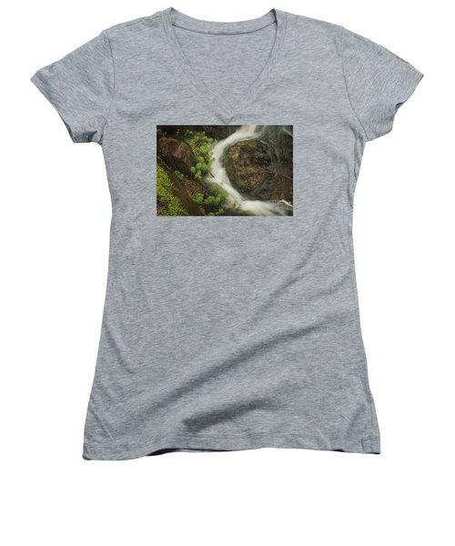 Flowing Stream Women's V-Neck