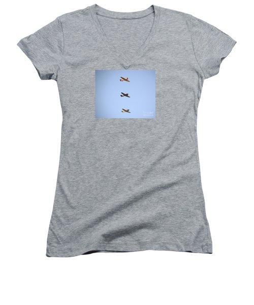Fly Boys Women's V-Neck T-Shirt