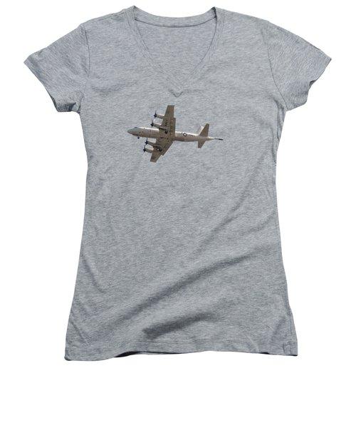 Fly Navy T-shirt Women's V-Neck
