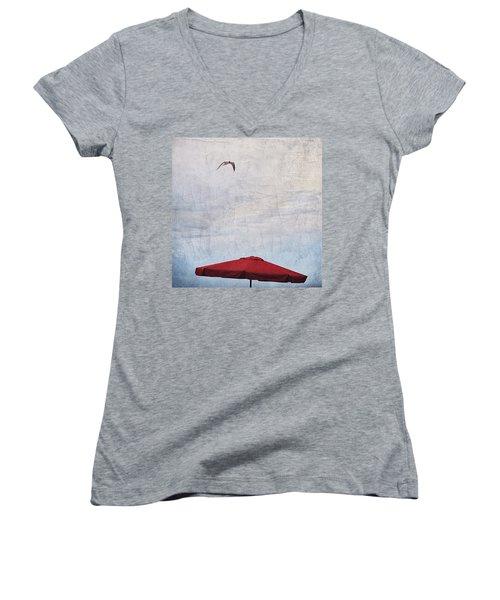 Flyover Women's V-Neck T-Shirt