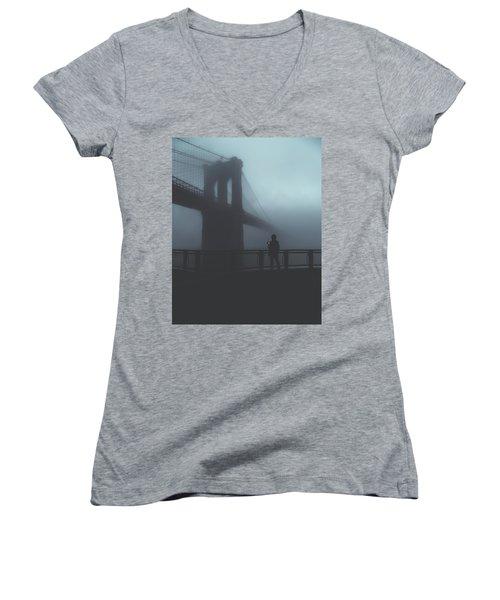 Fog Life  Women's V-Neck T-Shirt