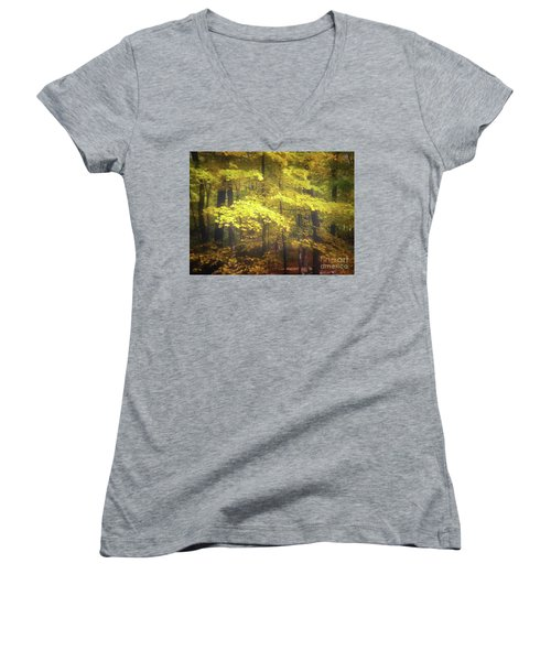 Foliage Freeman Women's V-Neck