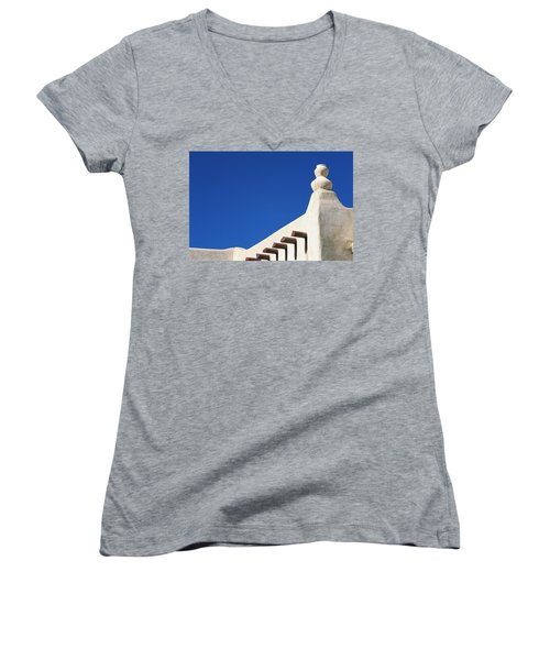Follow The Cairn Women's V-Neck (Athletic Fit)