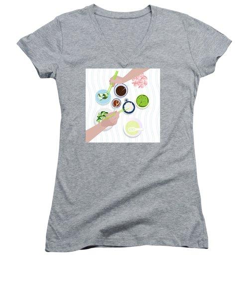 Food Women's V-Neck T-Shirt