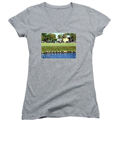 For All Species Women's V-Neck (Athletic Fit)