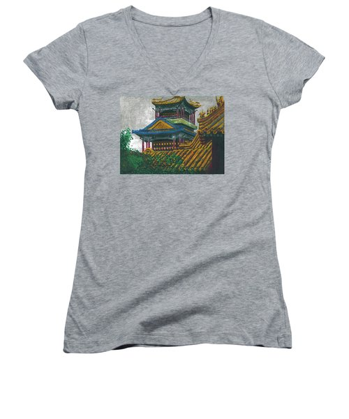 Forbidden City Women's V-Neck