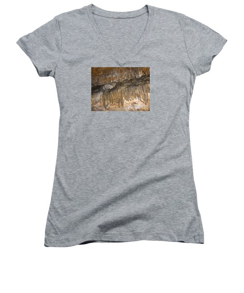 Force Of Nature Women's V-Neck T-Shirt