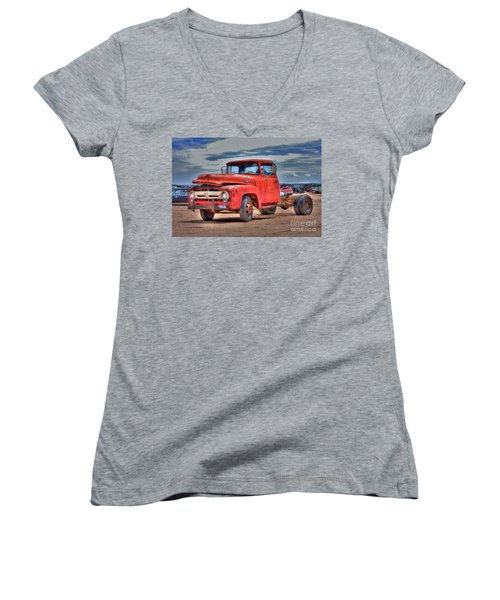 Ford F-350 Women's V-Neck (Athletic Fit)