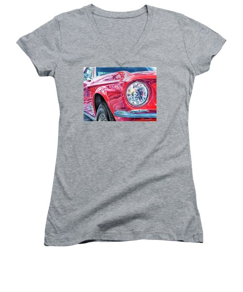 Ford Mustang Women's V-Neck
