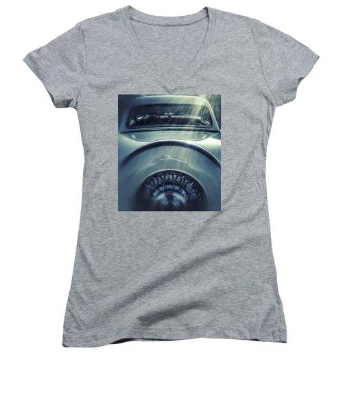 Ford Thunderbird Back Window 3 Women's V-Neck