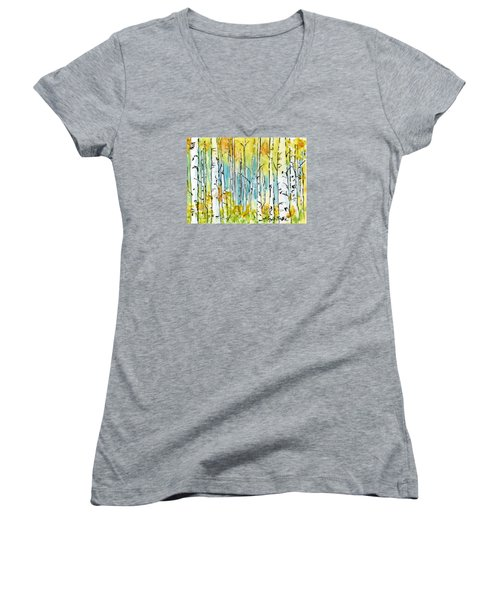 Forest For The Trees Women's V-Neck (Athletic Fit)