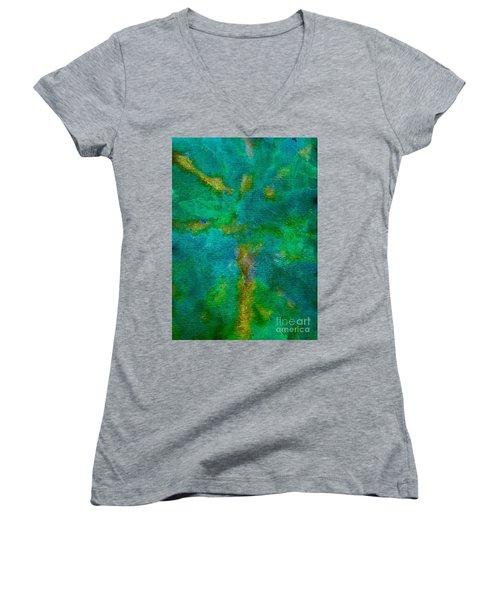 Forest Women's V-Neck T-Shirt