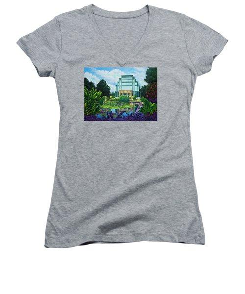 Forest Park Jewel Box Women's V-Neck T-Shirt