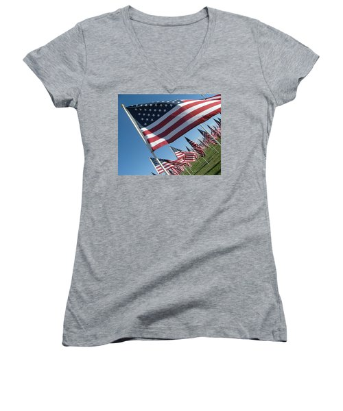 Forever Flags Women's V-Neck T-Shirt