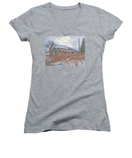 Forgotten Barn Women's V-Neck