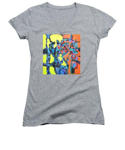 Forgotten Memories Of Broken Promises Women's V-Neck T-Shirt