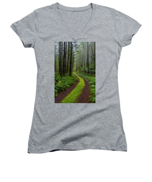 Forgotten Roads Women's V-Neck