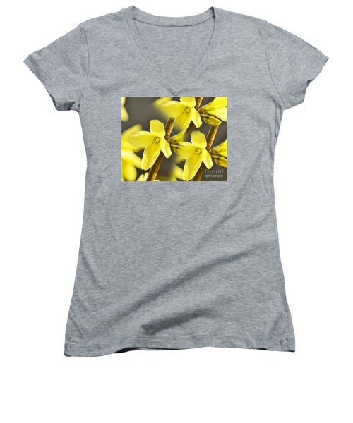 Forsythia Three Women's V-Neck (Athletic Fit)