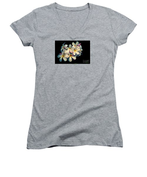 Women's V-Neck T-Shirt (Junior Cut) featuring the photograph Fragrance by Kelly Wade