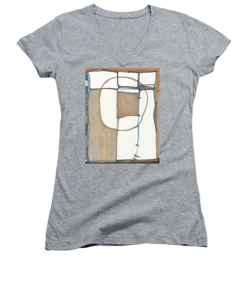 Framed Women's V-Neck T-Shirt (Junior Cut) by Sandra Church