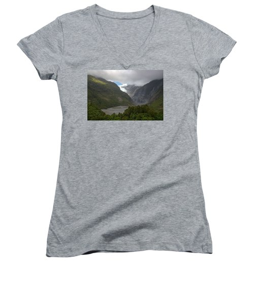 Franz Josef Glacier  Women's V-Neck T-Shirt