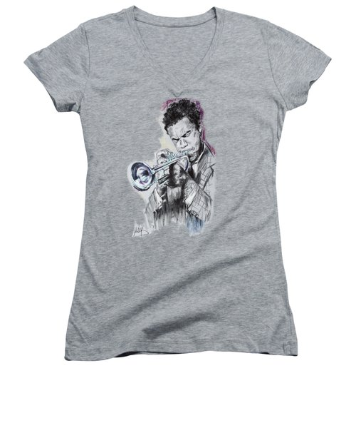 Freddie Hubbard Women's V-Neck T-Shirt