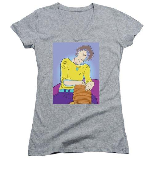 Free Form Women's V-Neck T-Shirt