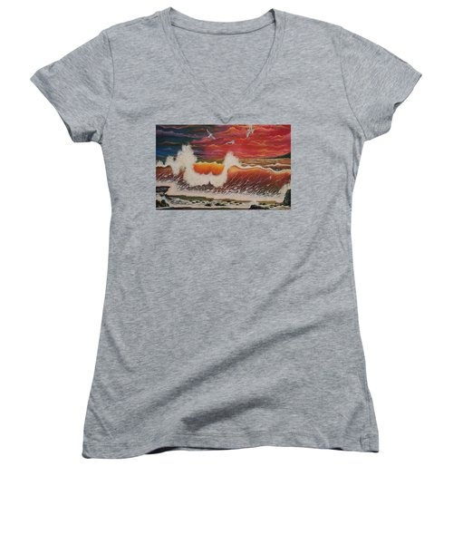 Free Women's V-Neck (Athletic Fit)