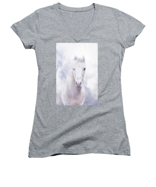 Free Spirit Women's V-Neck T-Shirt