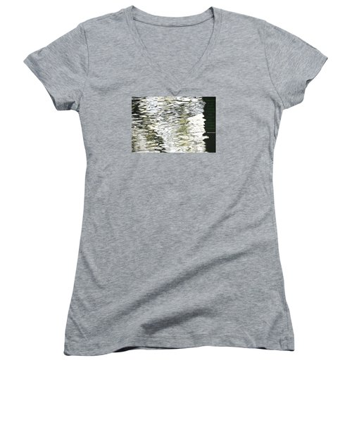 Freedom Women's V-Neck T-Shirt (Junior Cut) by David Norman