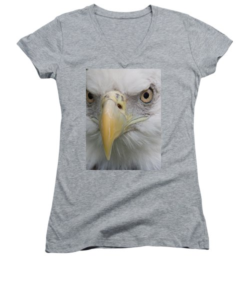 Freedom Eagle Women's V-Neck (Athletic Fit)