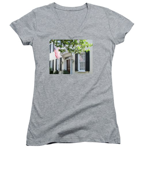 Freedom Reflected Women's V-Neck T-Shirt