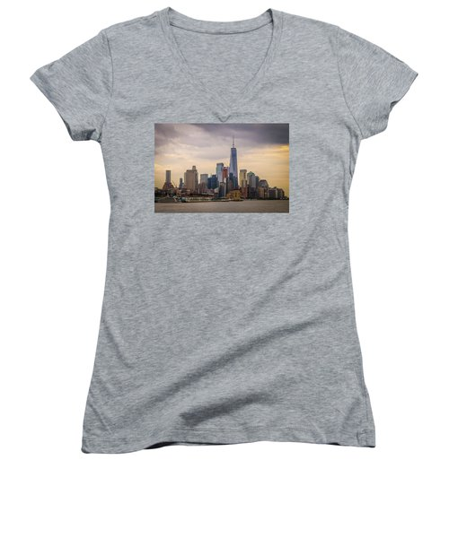 Freedom Tower - Lower Manhattan 2 Women's V-Neck