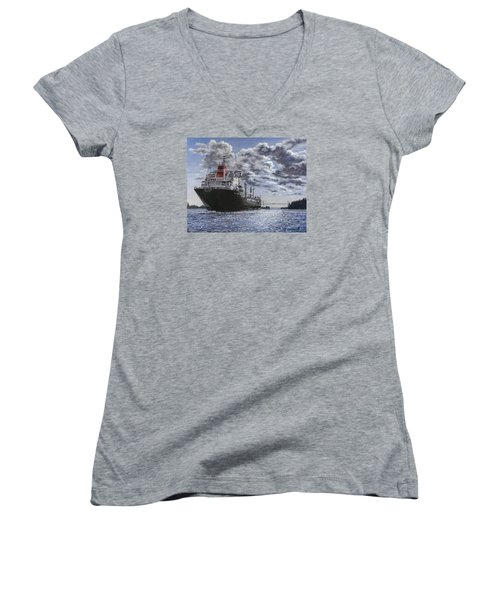 Freighter Inviken Women's V-Neck T-Shirt