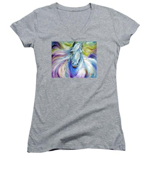 Freisian Dreamscape Women's V-Neck T-Shirt