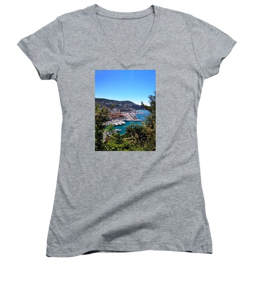 French Port Women's V-Neck T-Shirt