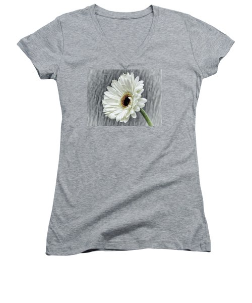 Fresh As A Daisy Women's V-Neck (Athletic Fit)