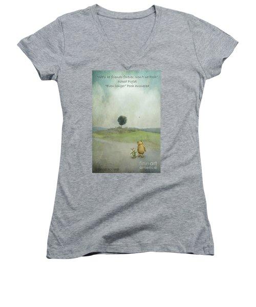 Friendship Women's V-Neck T-Shirt