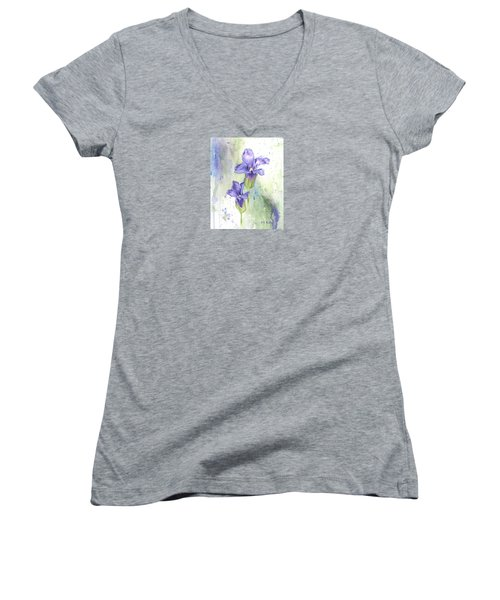Fringed Gentian Women's V-Neck