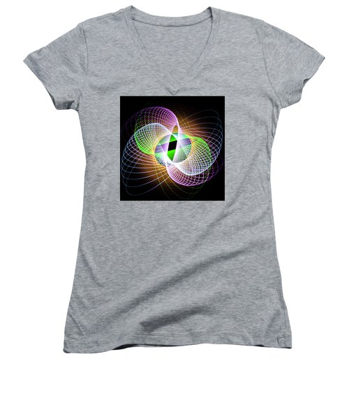 Frog Eye Women's V-Neck