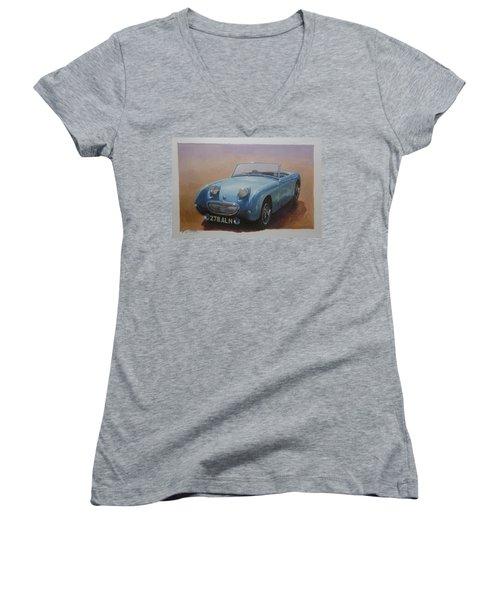 Frogeye  Women's V-Neck T-Shirt