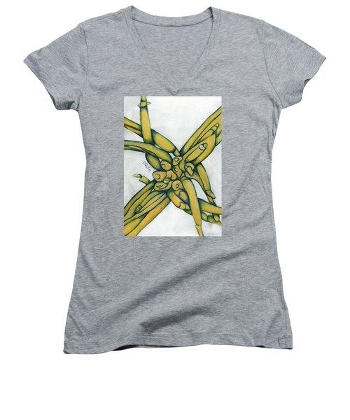 From My Garden 2 Women's V-Neck T-Shirt