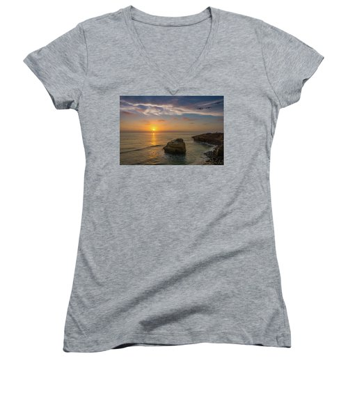 From Surf To Sky Women's V-Neck