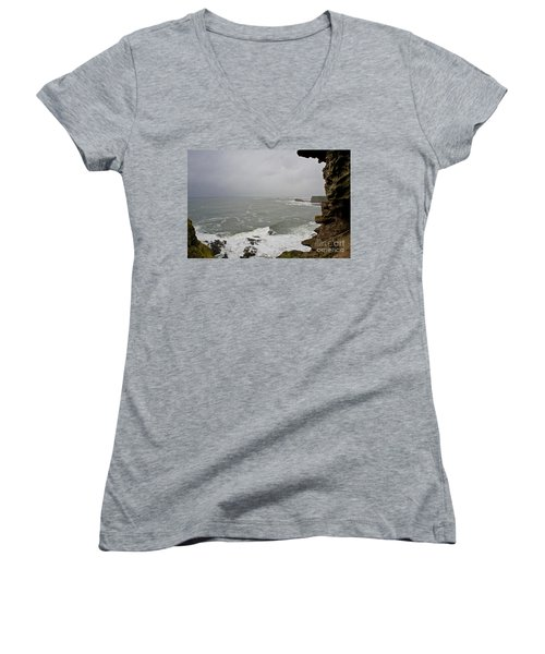 From The Castle Wall Women's V-Neck