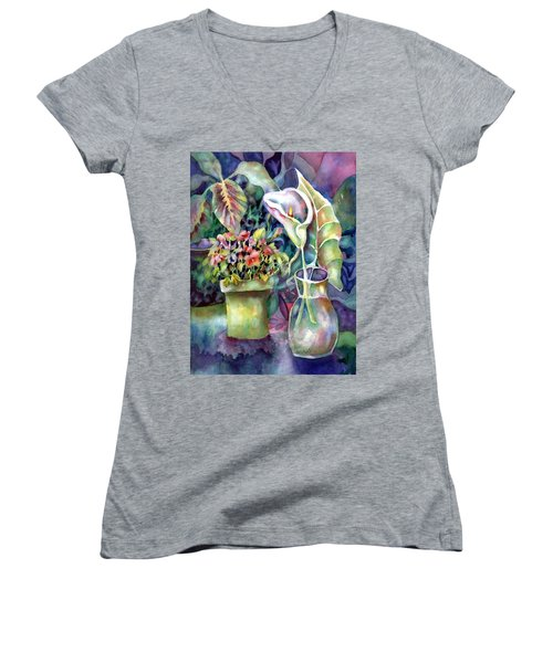 From The Garden Women's V-Neck (Athletic Fit)